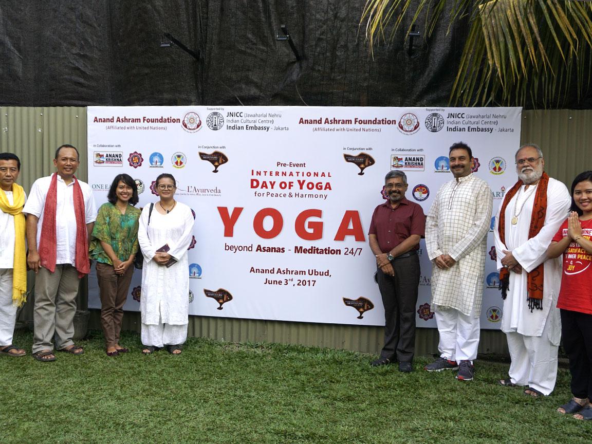 Pre-Event Yoga Day 2017