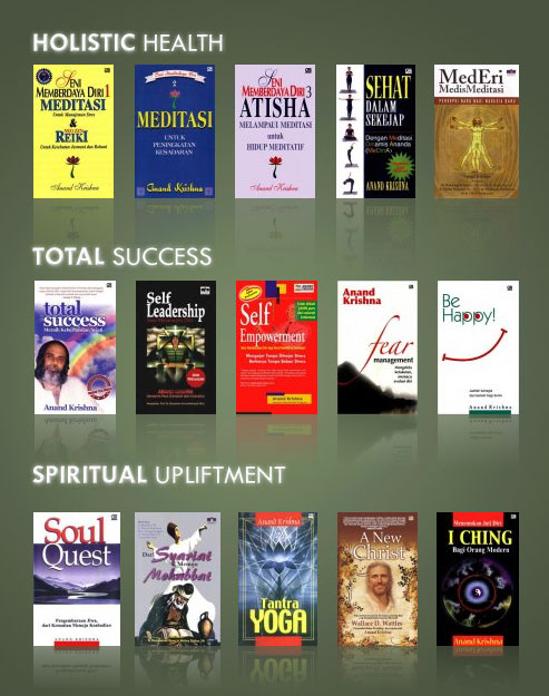 Books of Anand Krishna