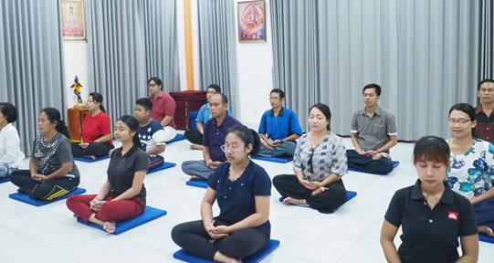 Meditasi dan Pola Hidup Sehat