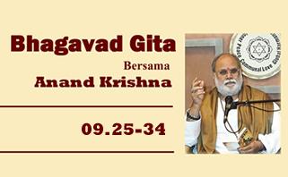 Bhagavad Gita 09.25-34