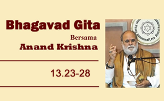 Bhagavad Gita 13.23-28