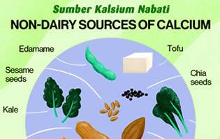 Sumber Kalsium Nabati