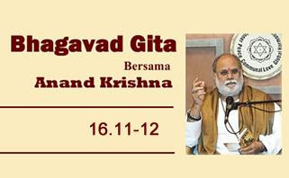Bhagavad Gita 16.11-12